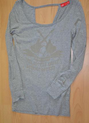 Блуза с открытой спиной puma