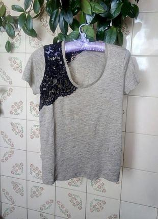 Очень стильная кофточка-футболка zara