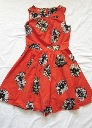 Платье солнце клеш