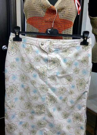 Спортивная миди юбка в нежный принт columbia оригинал для активного отдыха