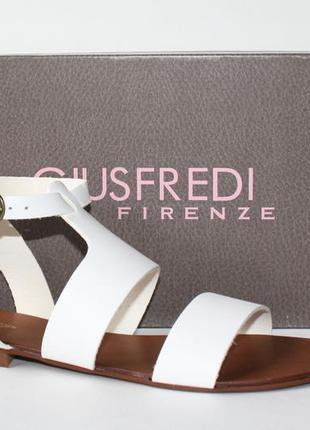 Босоножки giusfredi firenze италия, оригинал. натуральная кожа. 36-40