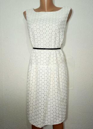 Платье коттоновое прямого силуэта р 20 asos