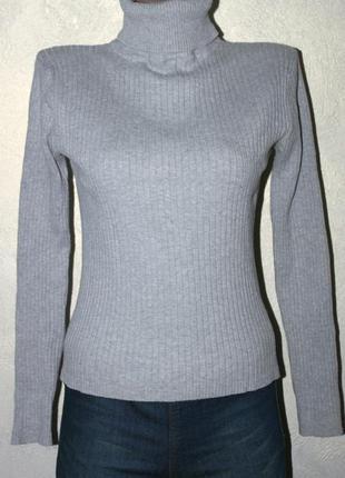 Актуальный свитерок в рубчик 😍