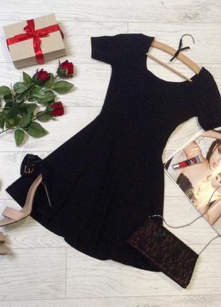 """Маленькое черное  платье""""h&m""""р.xxs/xs"""