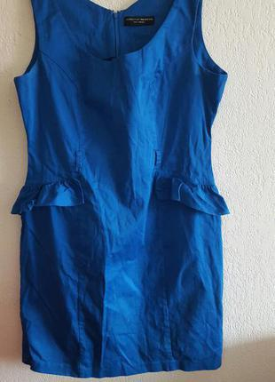 Красивое васильковое платье dorothy perkins