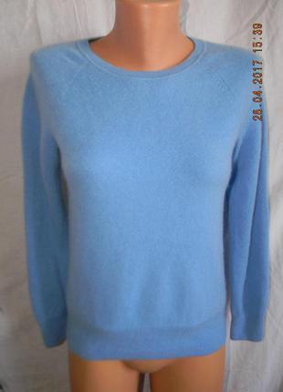 Теплый кашемировый свитер jaeger