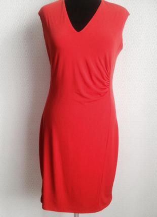 Элегантное, яркое платье по фигуре большого размера (xl) от esprit