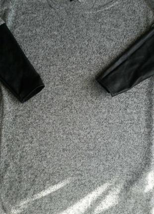 Стильный , легкий свитер нм, размер хс