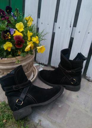 Ботинки tj collection на шерсти, очень теплые, размер 38 полный