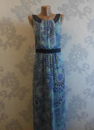 Шифоновое платье debenhams в идеальном состоянии  xxl