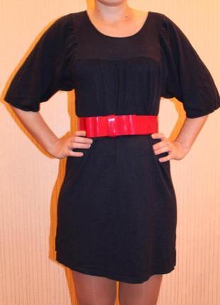 Продам стильное платье с поясом morgan