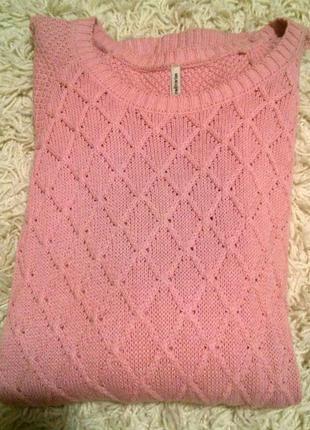 Нежный зимный свитер