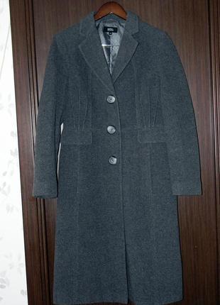 Шерстяное пальто от marks&spencer