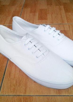 Aris allen white classic canvas dance sneaker