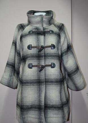 "Клетчатое пальто от ""marks & spencer"""