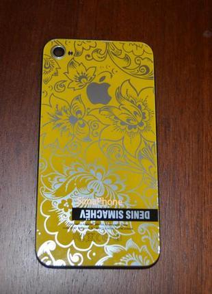Сменные панели от denisа simachevа для iphone 4s