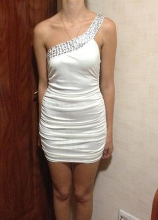 Белое платье tally weijl
