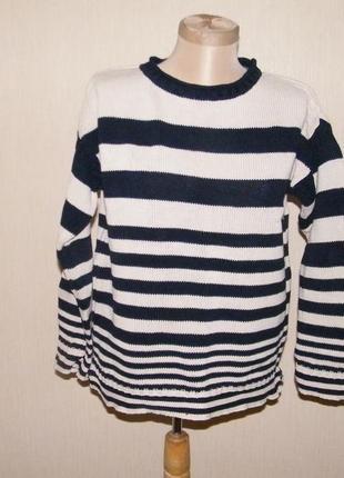 Полосатый свитер marks & spencer