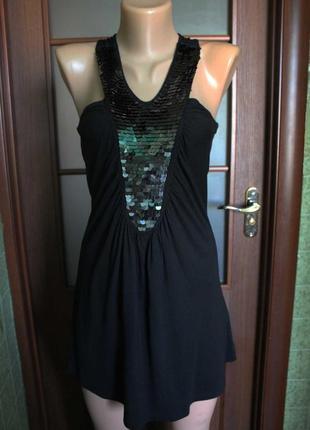 Платье туника с пайетками от atmosphere