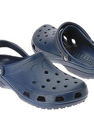 Crocs beach navy оригинал. w 6-7 - m 4-5, w 8-9 - m 6-71