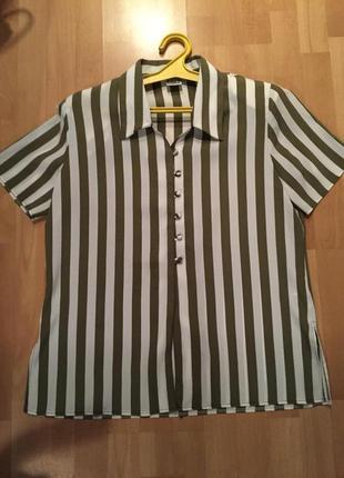 Актуальная полосатая блуза
