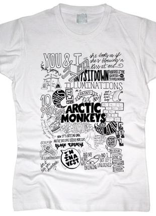 Новая футболка arctic monkeys