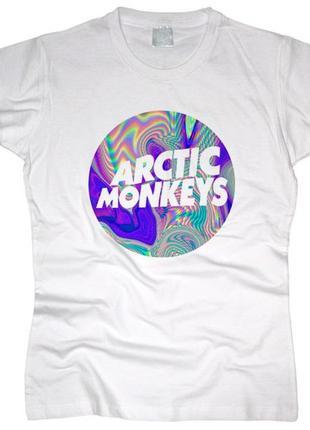 Новая футболка с принтом arctic monkeys