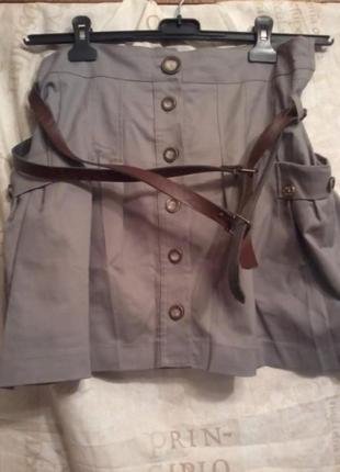 Итальянская юбка стрейч(5%) от guarapo с поясом