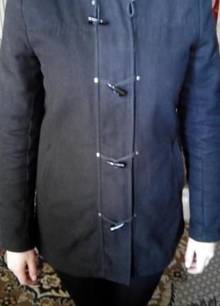 Пальто дафлкот кашемировое