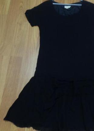 Асимметричное стильное платье от donna karan