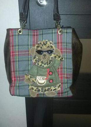 """Новая стильная фирменная сумка """"carrera"""" (италия)"""