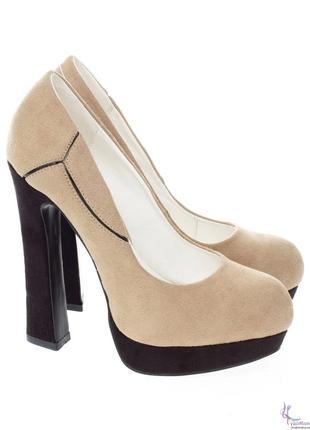 Туфли oodgi на высоком каблуке
