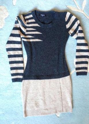 Тепла светр-туніка