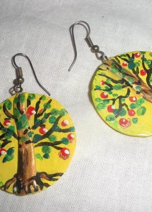 Серьги handmade