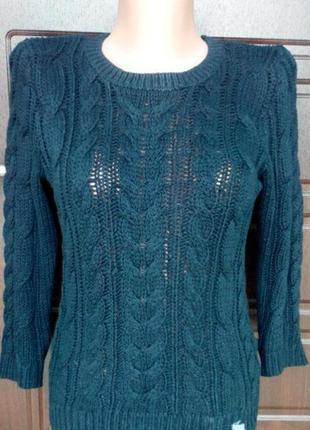 Вязаный свитер abercrombie & fitch
