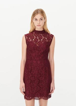 Кружевное восхитительное французское платье