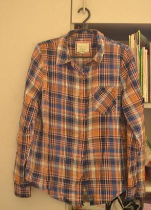 Клетчатая рубашка forever 21