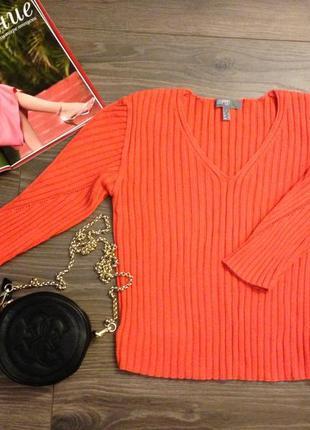 Оранжевый свитерок esprit