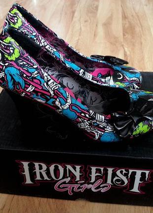 Туфли iron fist - bloody mess 36 37