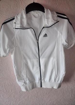 Летняя олимпийка adidas с коротким рукавом