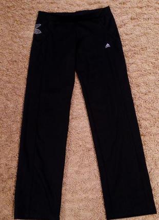 Спортивные черные штаны adidas