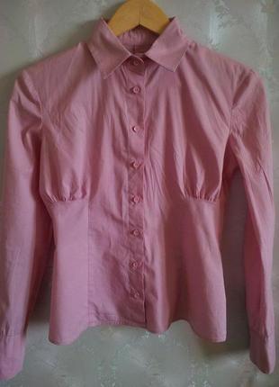Блуза розовая oodji