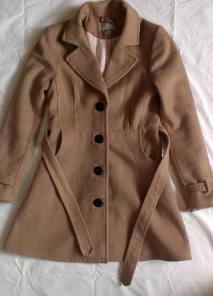 Кашемировое пальто весна