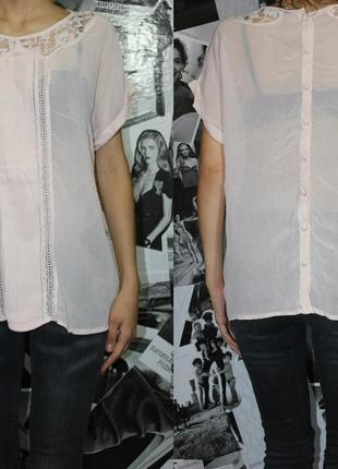 Блуза  с кружевом dorothy perkins