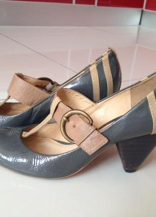 Туфельки clarks (размер 39) 100% кожа