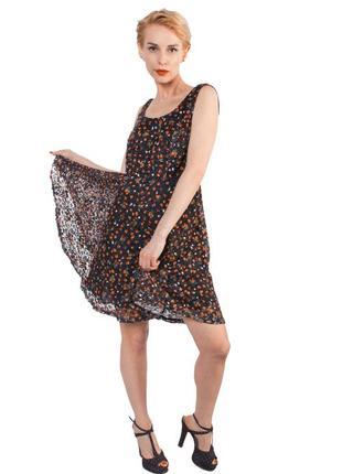 Продаю платье с цветочным принтом miss moda