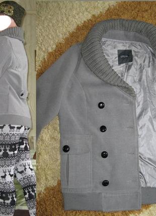 Кашемировое пальто на весну-осень 46-48