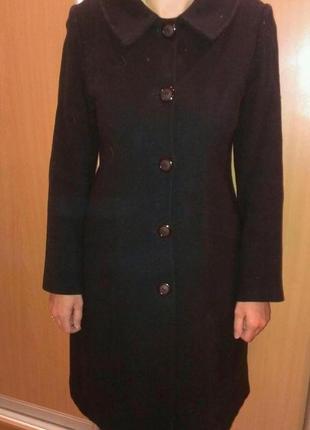 Пальто кашемировое р. 46.