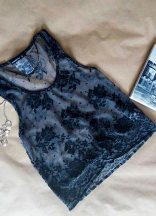 Ажурная блузочка h&m