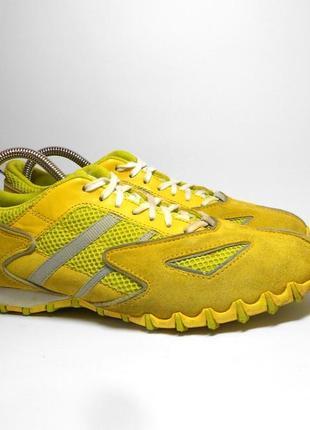 Желтые кроссовки diesel, размер 40